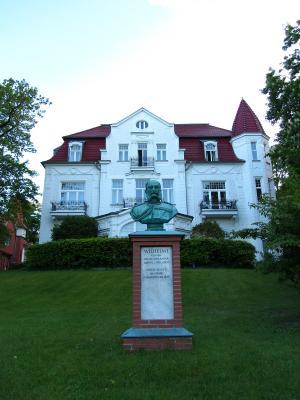 Haus auf der Promende Heringsdorf