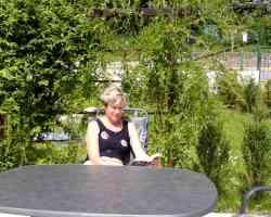 Terasse im Garten